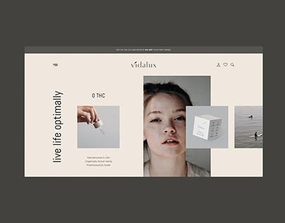Vidalux - Website