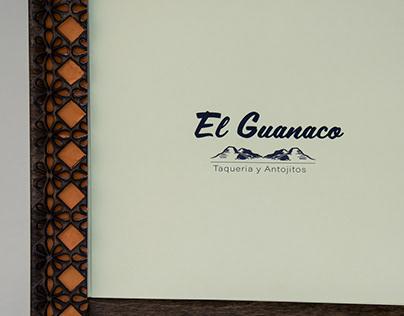 El Guanaco Menu