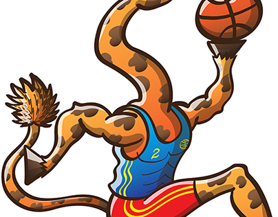 Animals playing sports