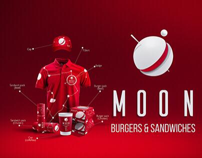 """""""MOON"""" Branding of fast food."""