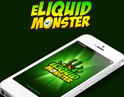 Eliquid Monster App Design for iOS