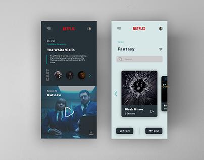 Netflix Redesign Concept