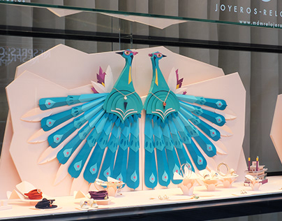 """WINDOW DISPLAY """"THE LOST CITY"""""""