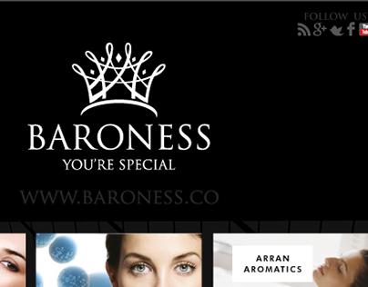 Newsletter Design for baroness.co