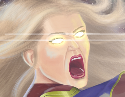 Captain Marvel Photon Blast