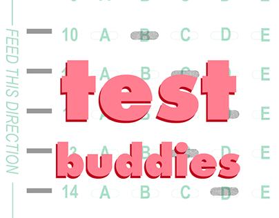 Podcast Logo: Test Buddies
