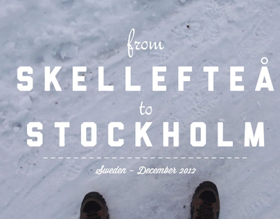 From Skellefteå to Stockholm - Personal Project
