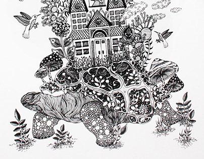 Ink Illustrations 2015, Part 1