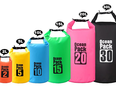 The Colorful of Waterproof Dry Bags