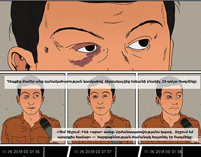 Criminal Comics for EVNmag
