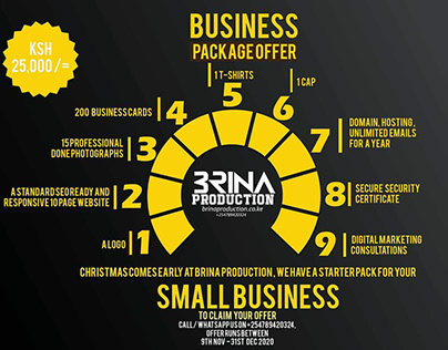 Corporate Infographic and logos
