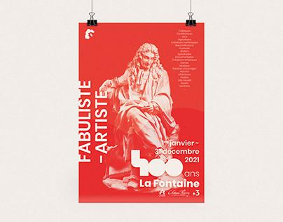 400 ans La Fontaine - COMMUNICATION & BRAND DESIGN