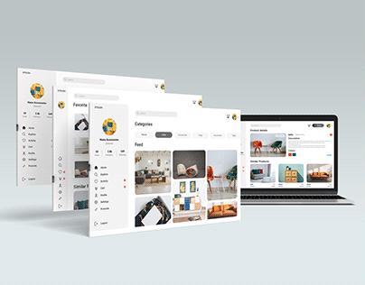 UX/UI Design for eCommerce website