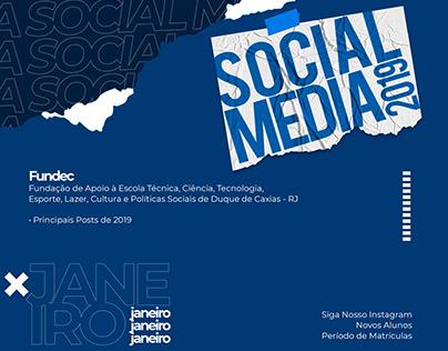 Social Media 2019 | Fundec