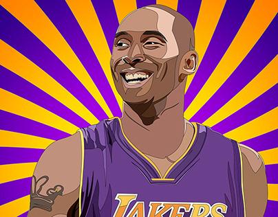 Kobe Bryant Commemorative Illustration