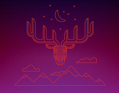 Midnight Elk