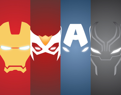 Marvel Heroes P1 Minimalist SmartPhone Wallpapers On Behance