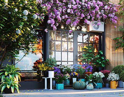 The Flower Shop Street