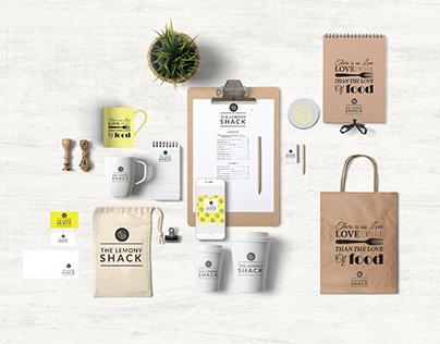 Brand Identity -The Lemony Shack