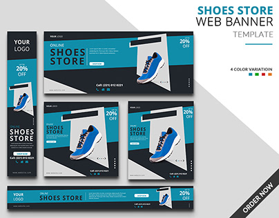Shoes Store Web Banner