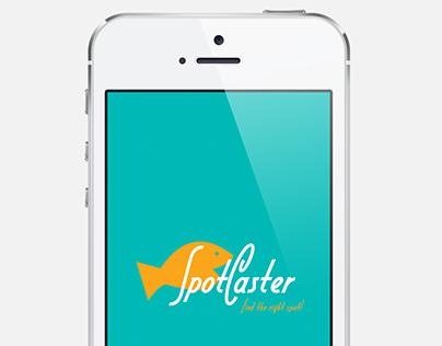 SPOTCASTER - Mobile APP Design