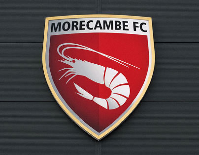 Morecambe Football Club Crest ('the Shrimps') 2010