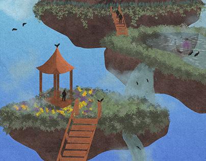 Canvas Style Digital Illustrations