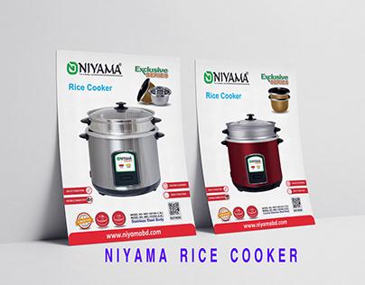 NIYAMA RICE COOKER
