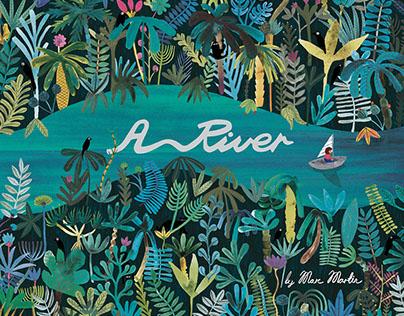 A River - picture book
