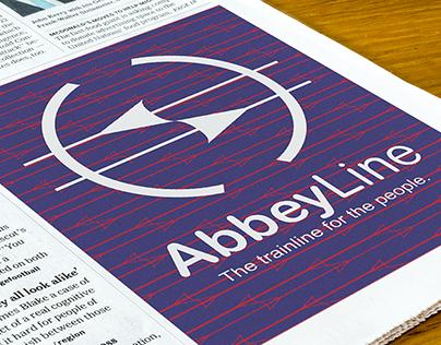 Abbey Line Branding