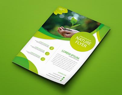 Green Event Flyer Desing