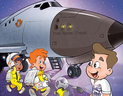 ilustração para livro infantil