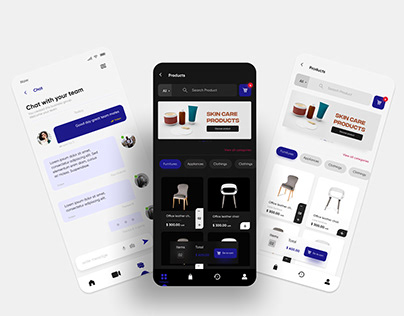 E-commerce and business conference chat Design