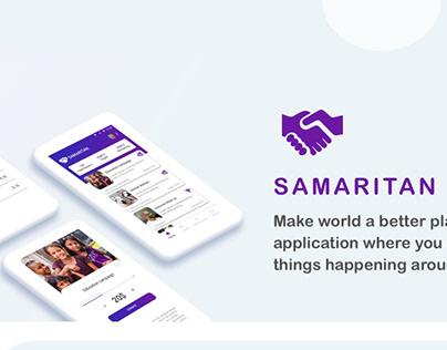 Volunteer - Donations Mobile application UI UX