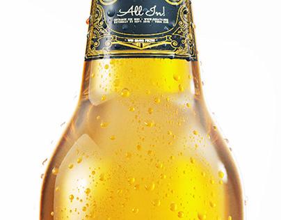 CGI / 3D - Beer Bottle with Condensation (Test Render)