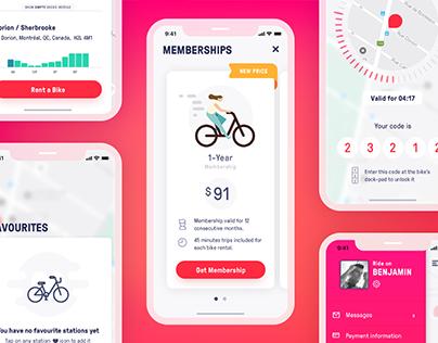 Bike Sharing App - Concept