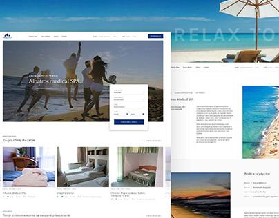 Адаптивный дизайн сайта для сети отелей в Польше