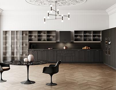 Photorealistic Kitchen Render