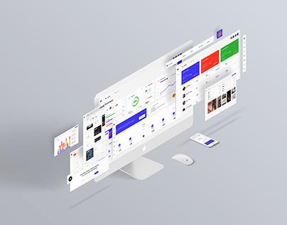 Employee Engagement Dashboard Design