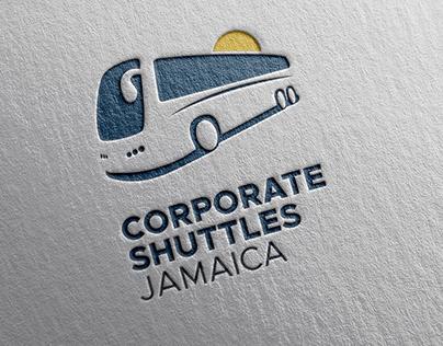 Corporate Shuttles Jamaica Logo Design