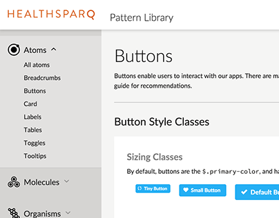 HealthSparq Enterprise Pattern Library