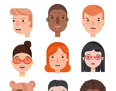 Character illustration, avatar