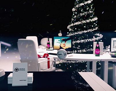 Greeting Card - 3D Animation | Carte de vœux 2018 3D