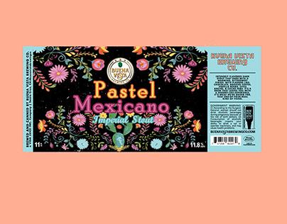 Pastel Mexicano - 11oz Label