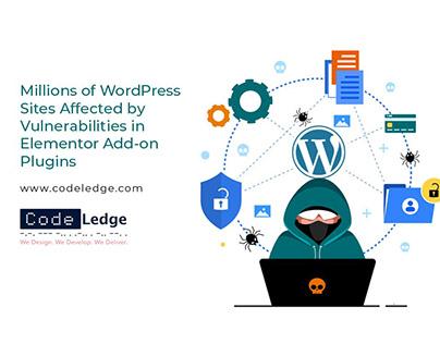 Vulnerabilities in 17+ Elementor Plugins for WordPress