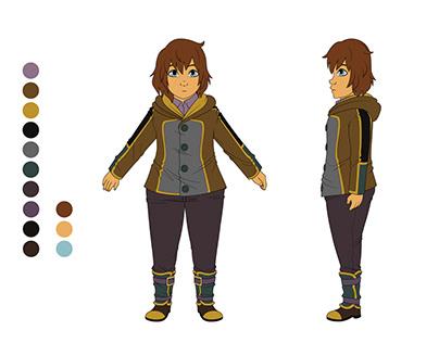Lyra Alexanders Character Concept