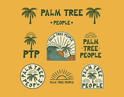 Palm Tree People Brand And Apparel Design