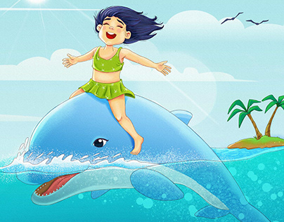 Dolphin and her little friend   Yunus ve arkadaşı