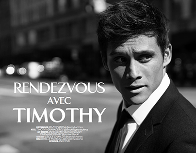Celebrity: Timothy Granaderos / Editorial QPmag
