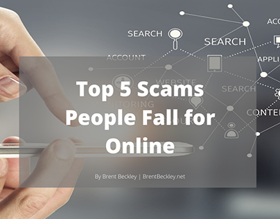 Top 5 Scams People Fall for Online